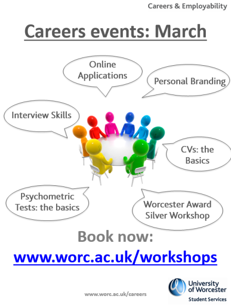 Careers Workshops March