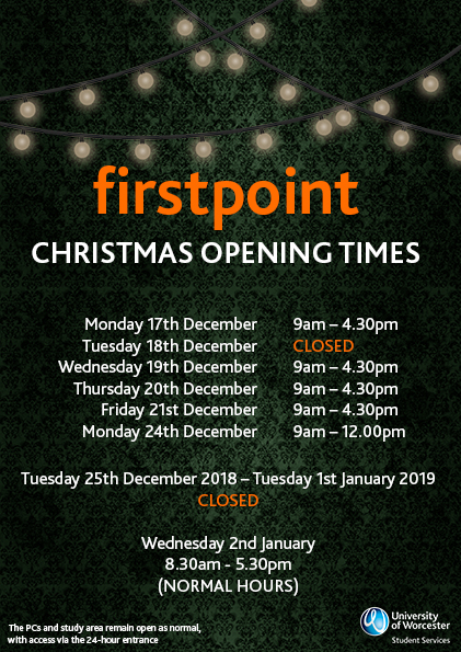 christmas poster closure 2018 A5 - to view