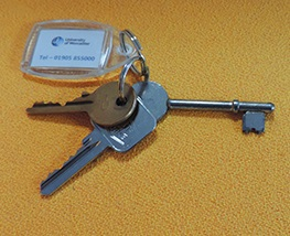 Accommodation keys
