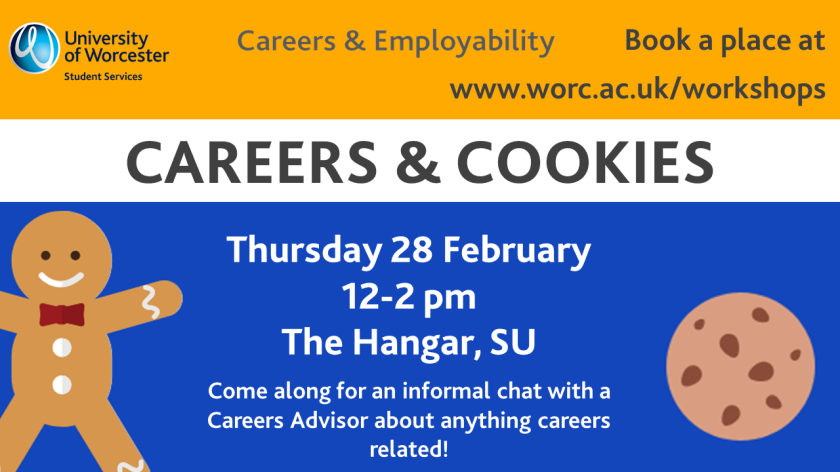 Careers & cookies 28.02.19
