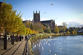 worcester catherdral