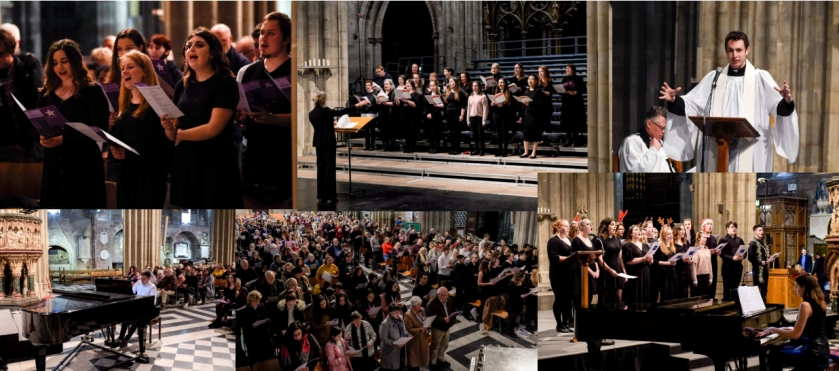 cathedral choir xmas 2018