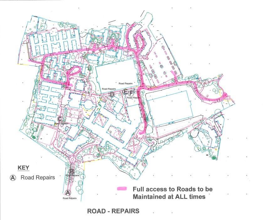SJC - Road repairs & full road access Plan 2