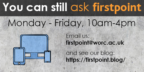 You can still ask firstpoint - online - twitter